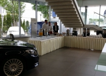 Impreza catering bufet Mercedes 600