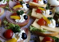 Impreza Catering kanapki 456